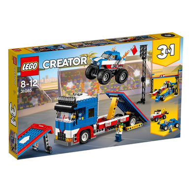 LEGO 31085, Creator 3 in 1, Mobile Stunt Show