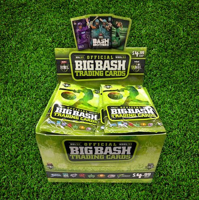 2017-18 TapnPlay BBL CA Cricket, 36 pack box