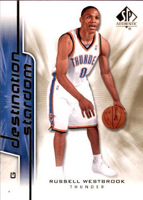 Russell Westbrook, Destination Stardom, 2008-09 UD SP Authentic Basketball NBA