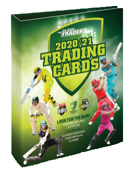 2020-21 TLA Cricket Australia and BBL Trading Card Album