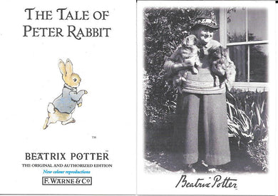 Beatrix Potter, Peter Rabbit, Base set of 100 cards, 1996 Tempo