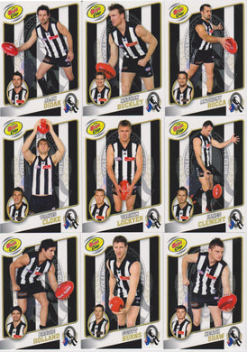 2007 Collingwood Magpies Bega Cup Player Set