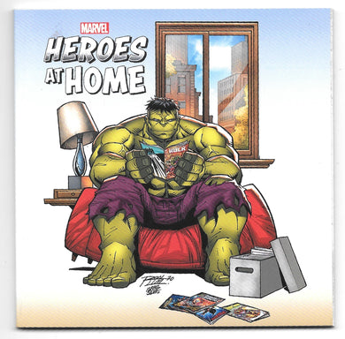 Marvel Heroes at Home Variant Cover Comic