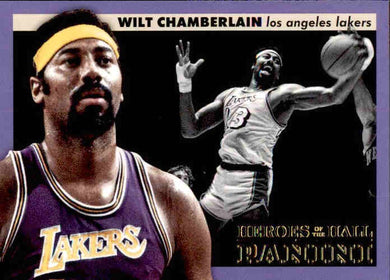Wilt Chamberlain, Heroes of the Hall, 2012-13 Panini Basketball NBA
