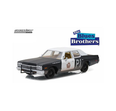 1974 Dodge Monaca Blues Mobile, Blues Brothers, 1:24 Diecast Vehicle