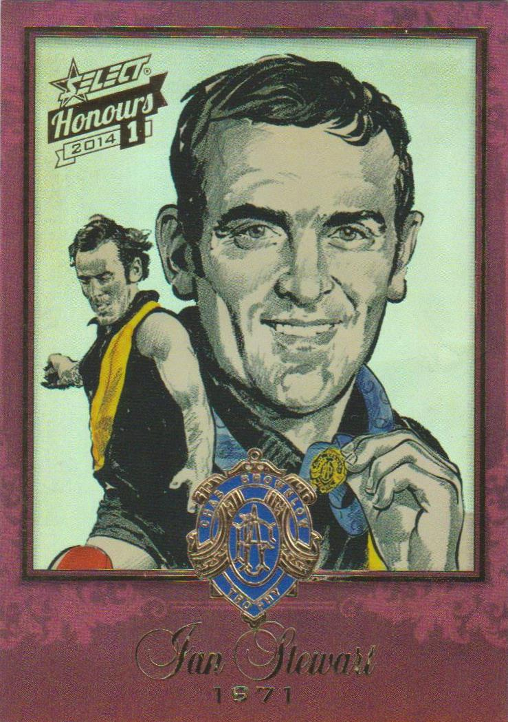 Ian Stewart, Brownlow Sketch, 2014 Select AFL Honours 1