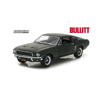 Bullit 1968 Ford Mustang GT Fastback, 1:24 Diecast Vehicle
