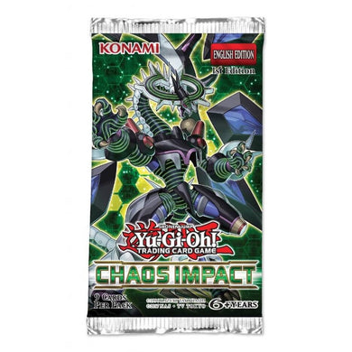 Yu-Gi-Oh TCG Chaos Impact Booster Pack
