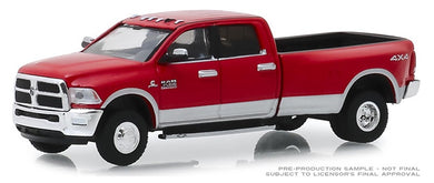 2018 RAM 3500 Big Horn Harvest Edition, Dually Drivers, 1:64 Diecast Vehicle