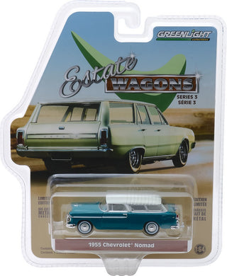 1955 Chevrolet Nomad, Estate Wagons, 1:64 Diecast Vehicle