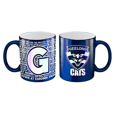 Geelong Cats Metallic Mug
