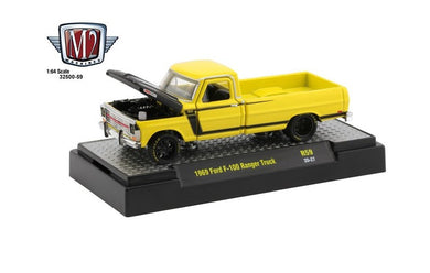 1969 Ford F-100 Ranger Truck, Auto Mods, M2 Machines, 1:64 Diecast Vehicle