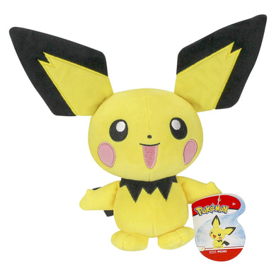 Pichu - 8 inch Pokemon Plush