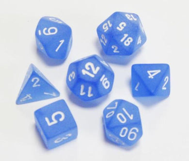 CHX 27406 Frosted Blue/white 7-Die Set
