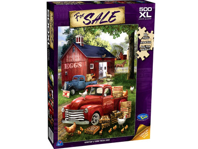 FOR SALE, Winston's Farm Fresh Eggs, 500XL Piece Jigsaw Puzzle