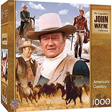 Masterpieces John Wayne Legend of the Silver Screen 1000 piece Jigsaw Puzzle