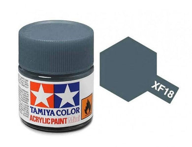 TAMIYA ACRYLIC MINI XF-18 MEDIUM BLUE 10ml