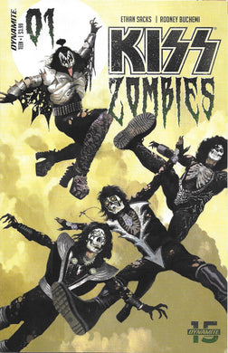 Kiss Zombies #1, Cover A Comic