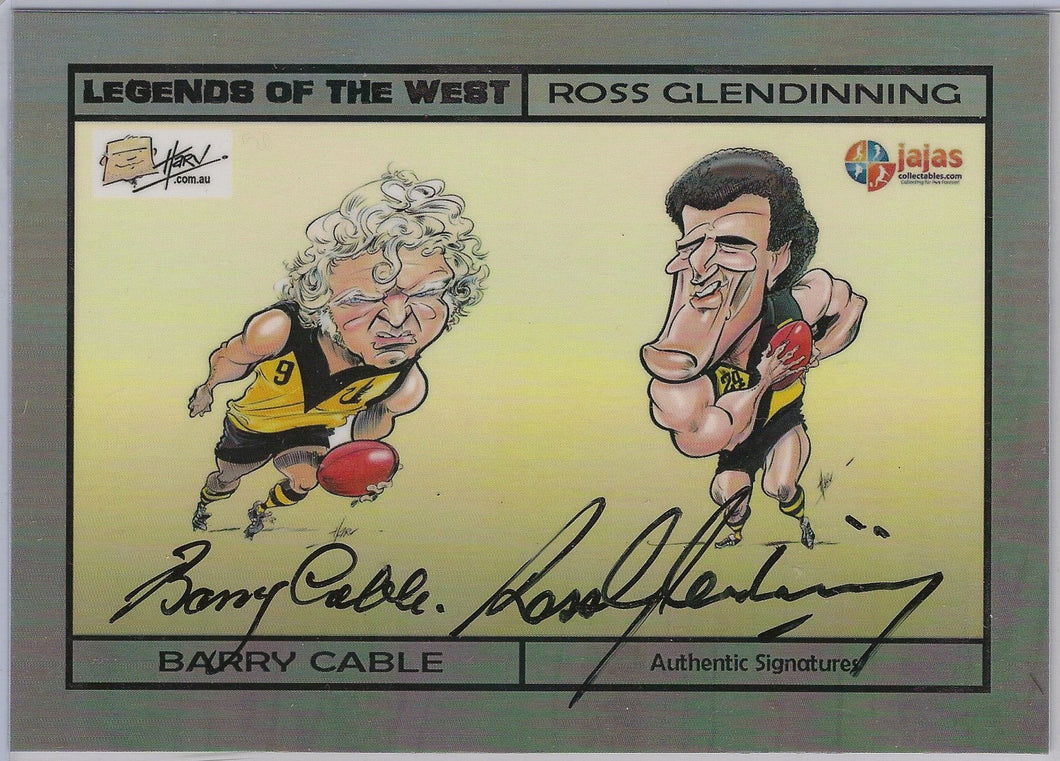 Cable & Glendinning, Legends of the West Dual Harvtime, Ja Ja's Collectables