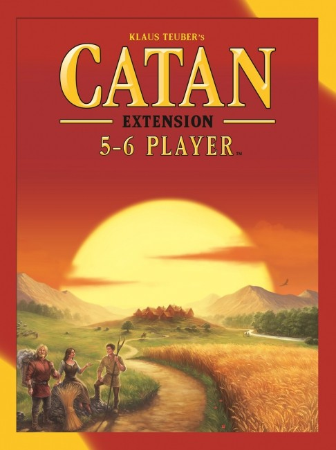 CATAN 5-6 Player Expansion - Board Game