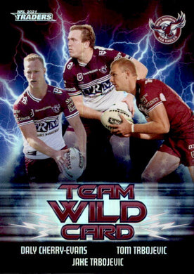 Manly Sea Eagles, Team Wild Card, 2021 TLA Traders NRL