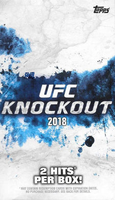 2018 Topps UFC Knockout Hobby Pack