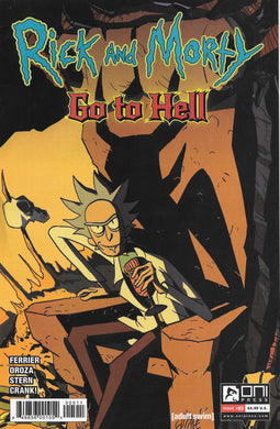 Rick and Morty Go to Hell #5 Comic