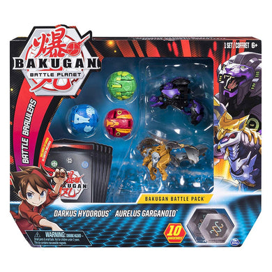 Bakugan Battle Pack - Darkus Hydorous & Aurelus Garganoid