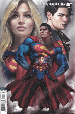 Superman Action Comics 1026 Variant Comic