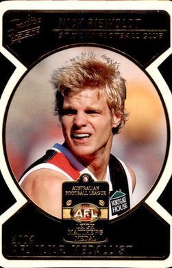Nick Riewoldt, Die Cut Medal Winner, 2005 Select AFL Tradition