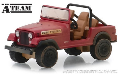 The A-Team, Jeep CJ-7, 1:64 Diecast Vehicle