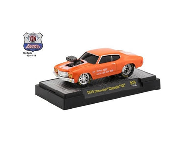 1970 Chevrolet Chevelle SS, Ground Pounders, M2 Machines, 1:64 Diecast Vehicle