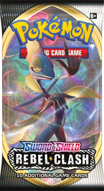 POKÉMON TCG Sword and Shield- Rebel Clash Booster