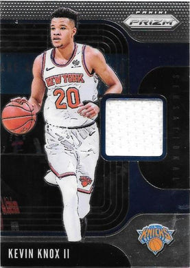 Kevin Knox II, Sensational Swatches, 2019-20 Prizm Basketball NBA