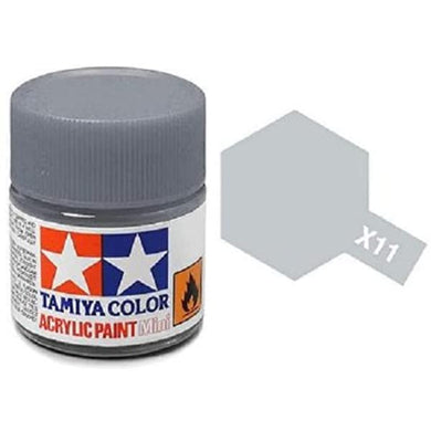 TAMIYA ACRYLIC MINI X-11 CHROME SILVER 10ml