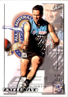 Gavin Wanganeen, All-Australian, 2002 Select AFL Exclusive