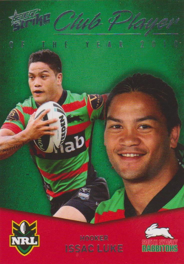 Issac Luke, Club Player, 2011 Select NRL Strike