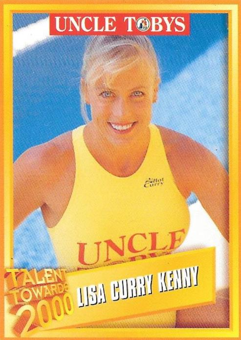 Lisa Curry Kenny, Uncle Tobys Talent Towards 2000