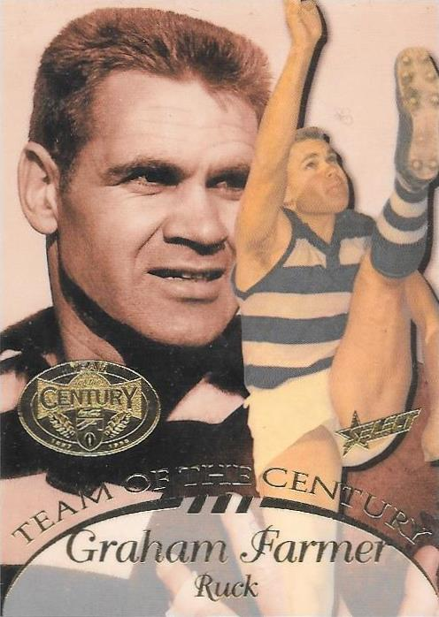 Graham Polly Farmer, Team of the Century, 1996 Select AFL