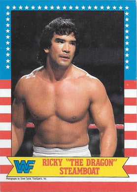 Ricky 'The Dragon' Steamboat, 1987 Topps WWF