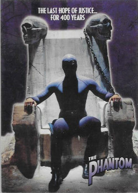 1996 Inkworks, The Phantom Promotional card.