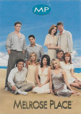 1996 Sports Time, Melrose Place, Promotional card.
