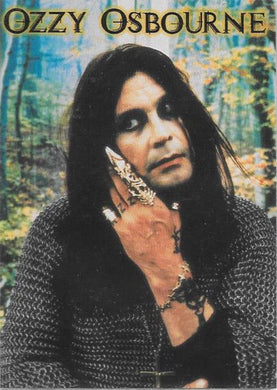 1999 Cornerstone Comms, Ozzy Osborne, Promotional card.