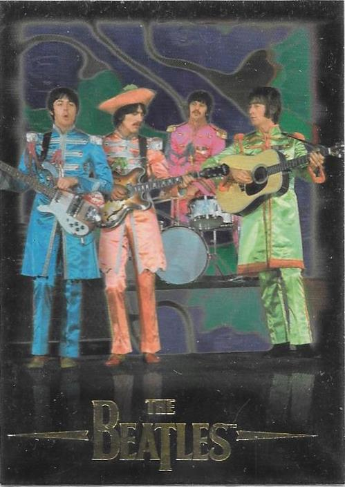 1996 Sports Time, The Beatles, Promotional card.