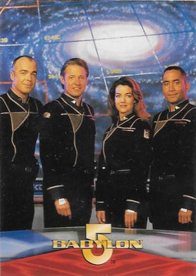 1996 Skybox, Babylon 5, Promotional card.