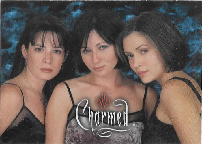 2000 Inkworks, Charmed, Promotional card.