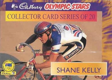 Shane Kelly, Cadbury Olympic Stars