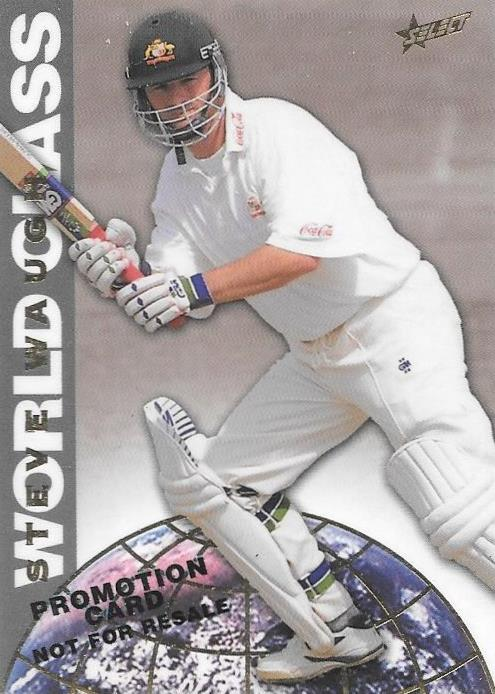 Steve Waugh, Promotional Card, 1998 Select Cricket