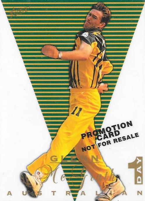 Glenn McGrath, Promotional Card, 1998 Select Cricket