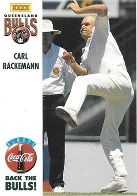 Carl Rackemann, Back the Bulls, 1994-95 Coca-Cola Cricket